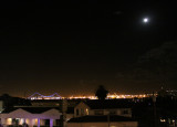 Lights over San Pedro - a mile from our departure docks