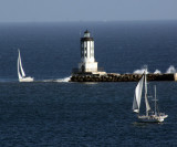Port of L.A. Harbor - Angel's Gate lighthouse