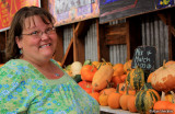 Donna at Rainbow Orchards