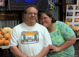 Alan and Donna at Rainbow Orchards