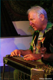 Accomplished pedal steel player Pete Grant, Auburn resident and old friend of David Nelson, sits in with NRPS
