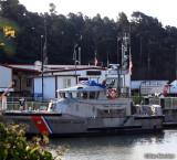 Coast Guard vessel - Noyo Harbor