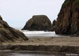 Rugged Seaside Beach near Cleone
