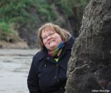 Donna at Seaside Beach