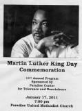 MLK Day Commemoration, Paradise, CA