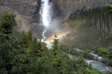 Rainbow at Takakkaw Falls