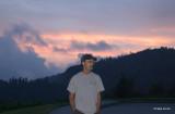 Cowee Mountain Overlook at Sunset