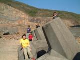石堆上的大合照.JPG