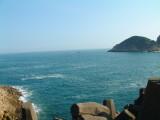 東壩對出的大海.JPG