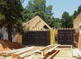 House - 51 - Rafters going up over garage area.