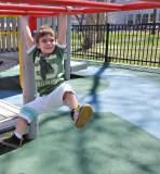 April 18, 2009 at the Franklin Square playground, Philadelphia