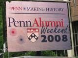 Penn Alumni Weekend 2008