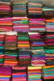 Sari store in Mysore, on way to Ooty