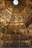 Mosaics on ceiling in baptistry      7924