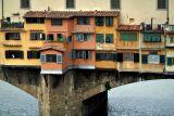 View of Ponte Vecchio from Uffizi Gallery     7716