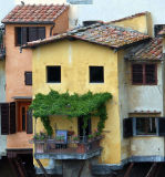 View of Ponte Vecchio from Uffizi Gallery     7718