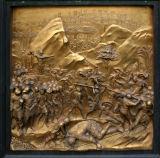 Ghiberti's door, baptistry      7897