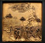 Ghiberti's door, baptistry      7898