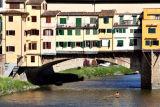 View of Ponte Vecchio from Ponte Santa Trinita     7801