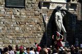 Parade/rally in Piazza della Signoria     7763
