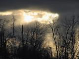 evening november sky