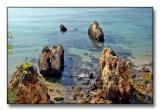 João d'Arens rocky coastline in Portimão