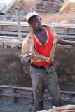 Labourer at Marawy dam
