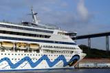 AIDAaura - IMO 9221566  (port: WILLEMSTAD CURACAO)