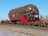 Fort McMurray, Alberta...extremely heavy loads being moved