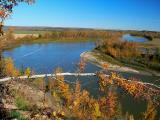 North Saskatchewan River near Genesee