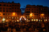 Spanish steps night shot 3