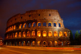 Colosseum night shot street level