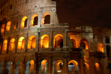 Colosseum night shot up close