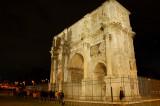 Arc of Constantine night shot