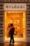 Street shop scene in Rome