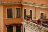 Roman veranda