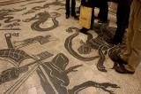 Vatican Museum floor mosaic