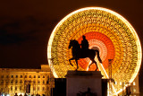 Place Bellecour night shot