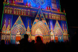 Lyon Lumiere St Jean Cathedral 3