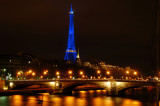 Pont Alexander with blue Eiffel 2