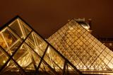Pyramid at Louvre 4
