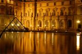 Pyramid at Louvre 2