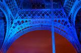 Eiffel in Blue detail