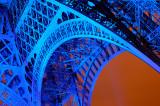 Eiffel in Blue detail 2