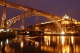Dom Luis Bridge night shot 2
