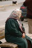 Woman in Istanbul