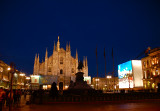 Milan Cathedral night shot