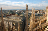 Milan Cathedral view