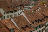 The rooftops of Bern