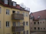IBIS Hotel Munich City - A view out the window